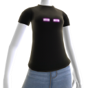T-shirt Enderman do Minecraft