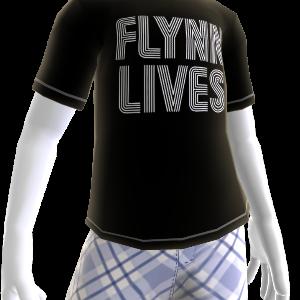 T-shirt O Flynn está vivo