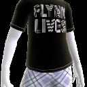 플린 라이브 티셔츠