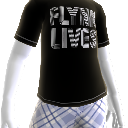 Camiseta Flynn vive