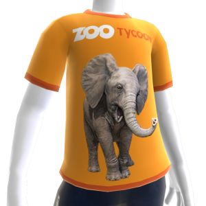 T-shirt d'éléphant de Zoo Tycoon