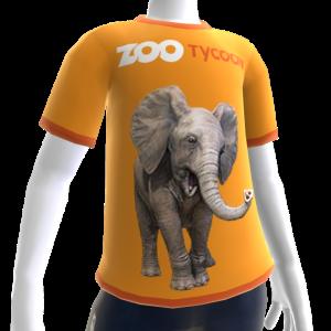 Camiseta de elefante de Zoo Tycoon