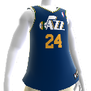 Maillot NBA 2K13 Utah Jazz