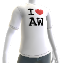 T-shirt « I love Alan Wake »