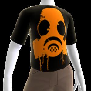 Epic Gas Mask Shirt Orange
