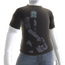 Camisa com grfico de Isaac