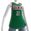 Milwaukee Bucks NBA2K12-Trikot