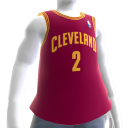 Cleveland Cavaliers NBA2K11-Trikot 