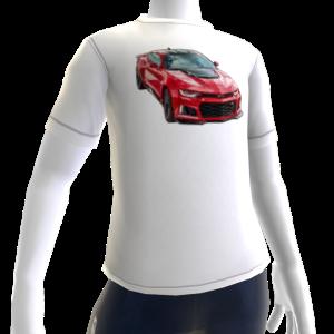 2017 Camaro ZL1 White Tee 2