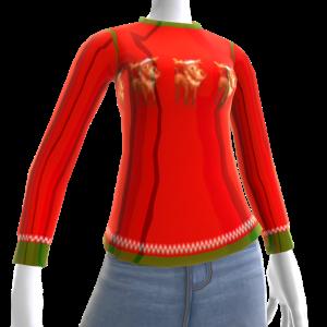 Christmas Ugly Chr Sweater Deer