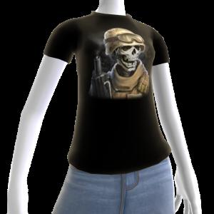 Epic Horror Skull 14 T-Shirt