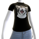 Epic Crying Cat Black T-Shirt