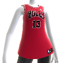 Chicago Bulls NBA2K12-Trikot