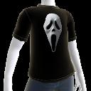 T-Shirt mit Geistgesicht