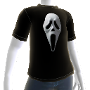 Camiseta de cara de fantasma