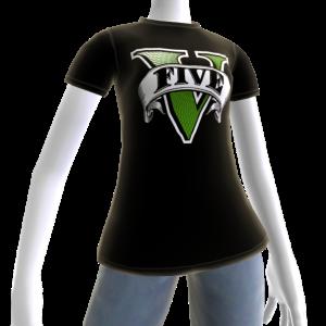 GTAV Logolu Tişört