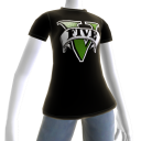 Camiseta logotipo de GTAV