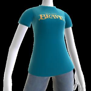 Maglietta con Logo Ribelle The Brave