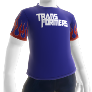 Camiseta con el logotipo de Transformers
