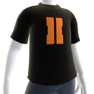 "COD: Black Ops II ""II"" Shirt Black - Male"