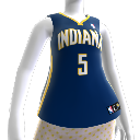 Indiana Pacers NBA2K10-Trikot