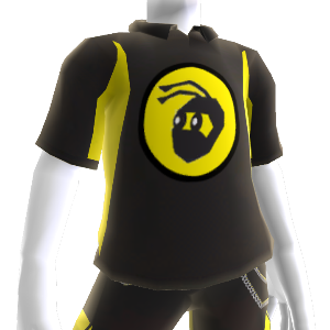 NinjaBee Black Sport Polo