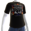T-shirt logo Rock Band Blitz