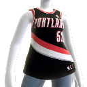Portland Trail Blazers NBA2K10-Trikot