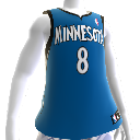 Minnesota Timberwolves NBA2K12-Trikot