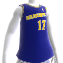 Warriors 90-91 Retro NBA 2K13 Jersey