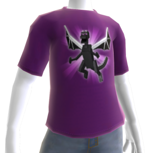 Minecraft camiseta do Dragão do Submundo