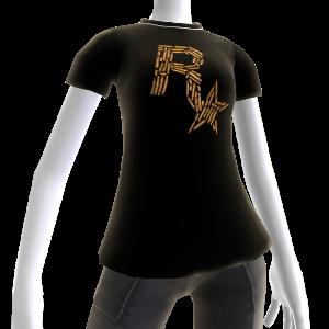 T-shirt med patronlogo fra Rockstar