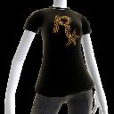 T-skjorte med Rockstar-kulelogo