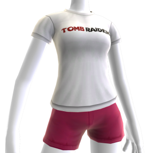 Tomb Raider Logo T-shirt (Female)