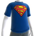Camiseta com Logotipo do Superman