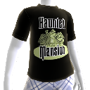 T-shirt met Haunted Mansion