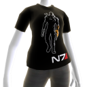 Maglia nera Mass Effect 3 