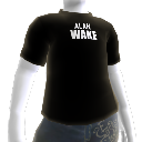 Camisa com o logo do Alan Wake