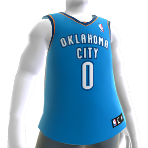 Oklahoma City Thunder NBA2K11 Jersey