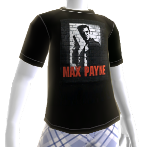 Camiseta Clássica do Max Payne para o Avatar