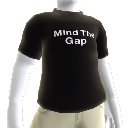 Black Mind the Gap shirt