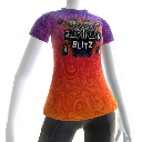 Rock Band Blitz Camiseta psicodélica