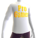 White Gold Pro Gamer SS Shirt