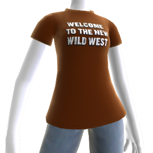 T-shirt nouveau far West