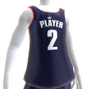 KKZ Blue White and Red Player 2 Jersey