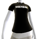 T-shirt med Max Payne 3-logo 