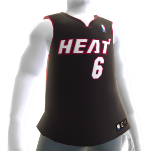 Maglia Miami Heat NBA2K11