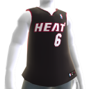 Miami Heat NBA2K11-Trikot