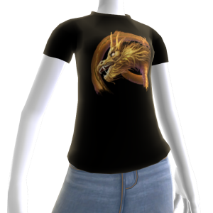 Epic Journey Gold Dragon T-shirt