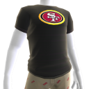 49ers Gold Trim Tee